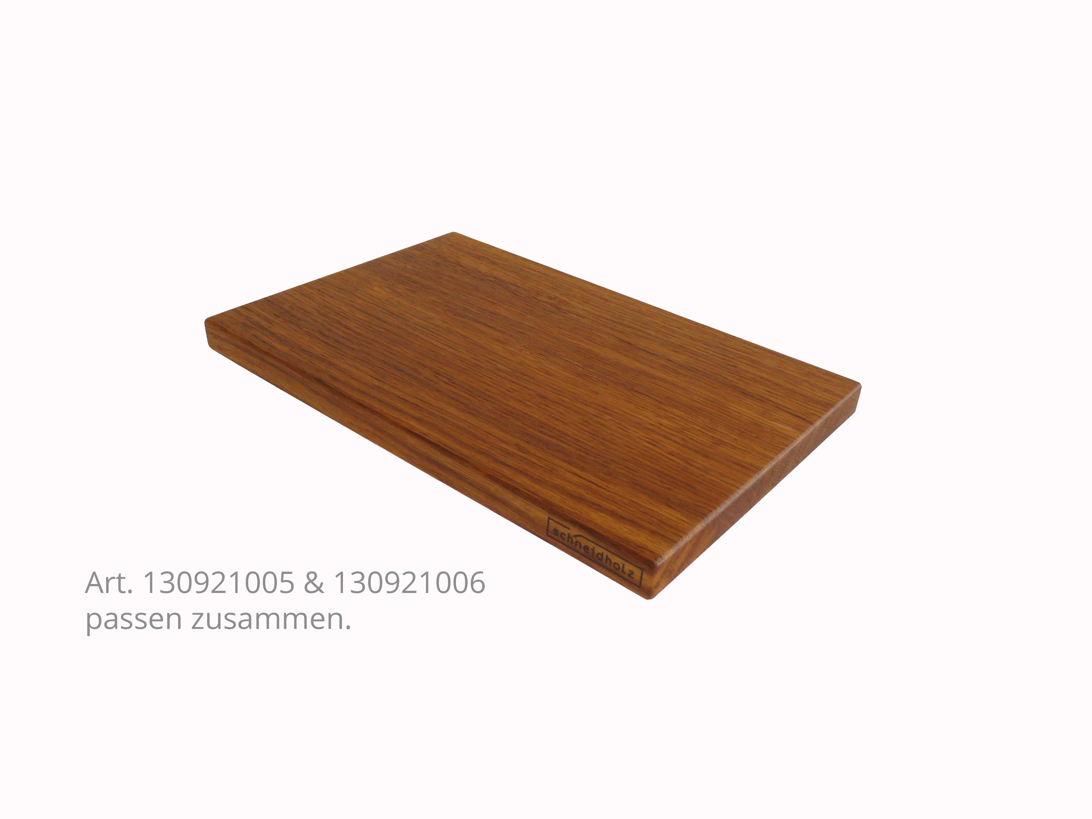 Kleinholzbrett - Kupfereiche